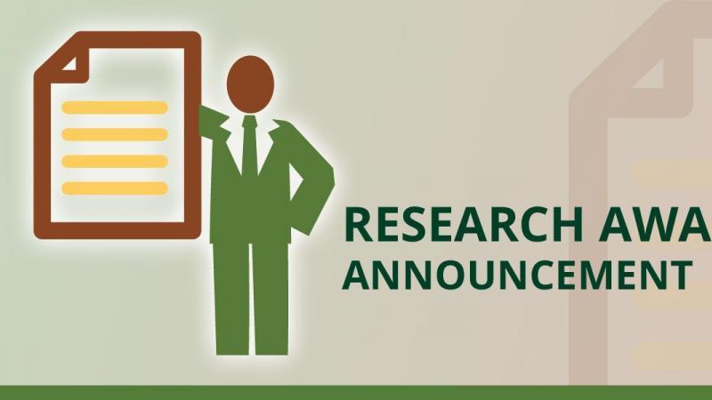 Research Award Announcement